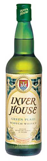 Inver House Scotch Green Plaid 1.00l
